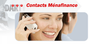 contact service client Menafinance Darty
