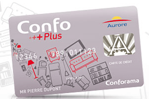carte credit conforama