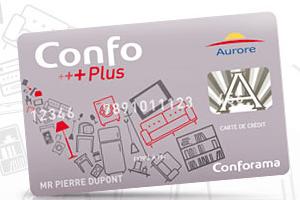 carte credit conforama