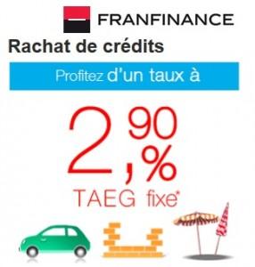 rachat de crédit franfinance