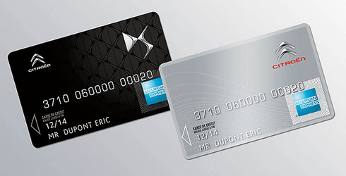 carte de crédit Citroen AMEX
