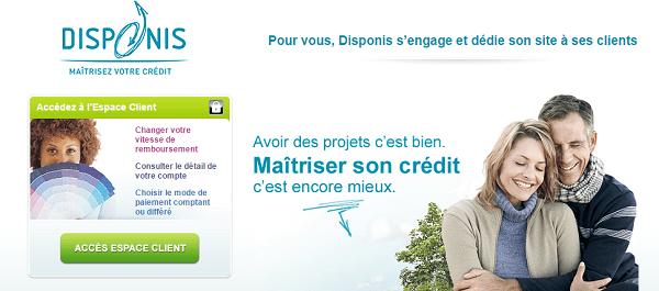 disponis crédit en ligne