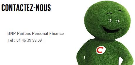contact bnp paribas personal finance téléphone cetelem