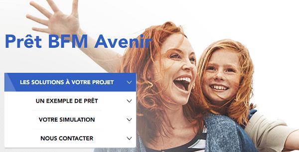 crédit BFM Avenir à 2,30%