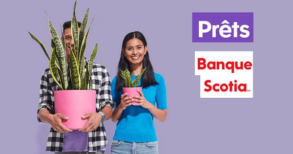 crédit Banque Scotia financement personnel et prêt auto