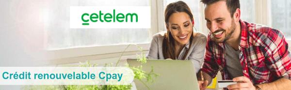 crédit renouvelable CPay Cetelem