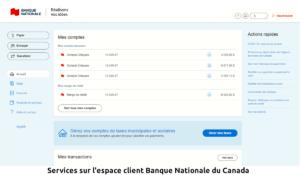espace client Banque Nationale