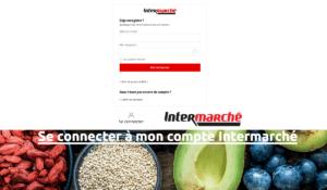 Se connecter compte Intermarché