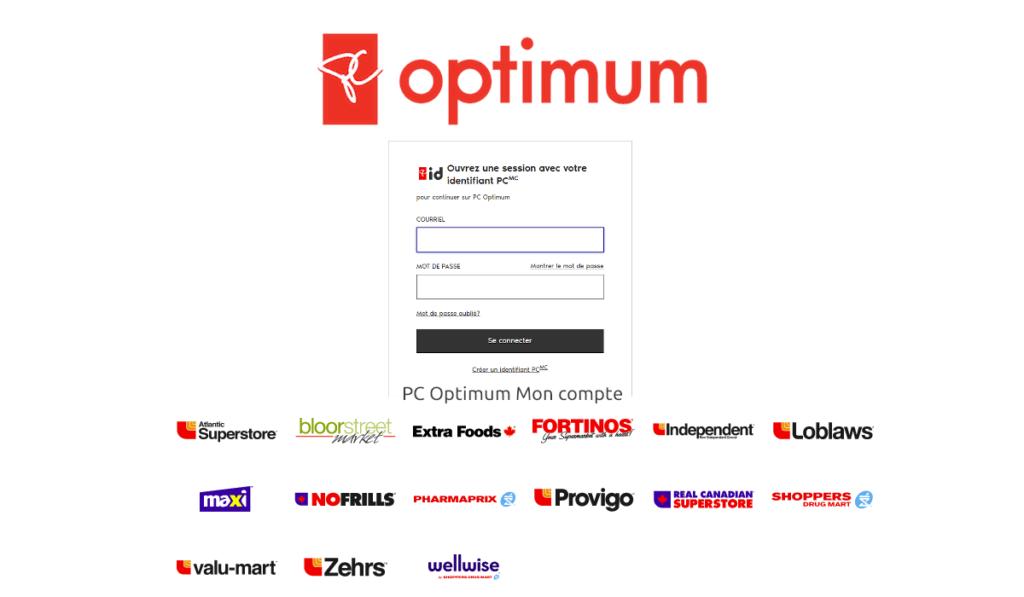 PC Optimum Mon compte